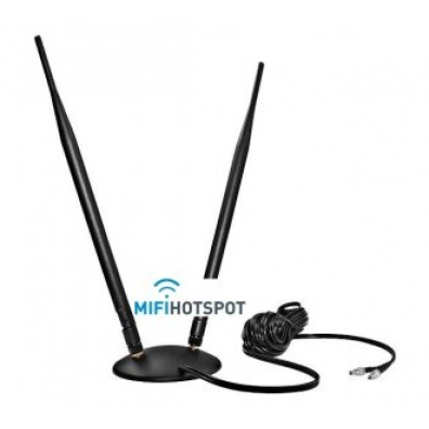 9 Dbi Dual Pole antenna for 4G LTE/2G GSM and 3G UMTS SMA 2x